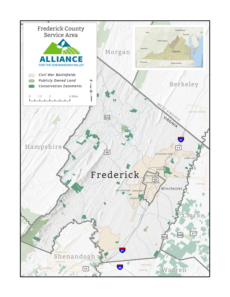 Alliance for the Shenandoah Valley – Frederick County-01