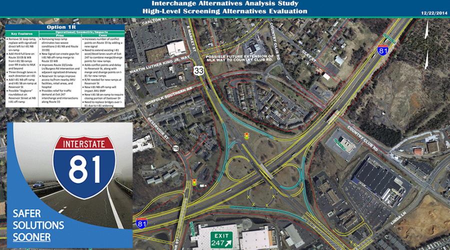 Safer Solutions Sooner for Interstate 81