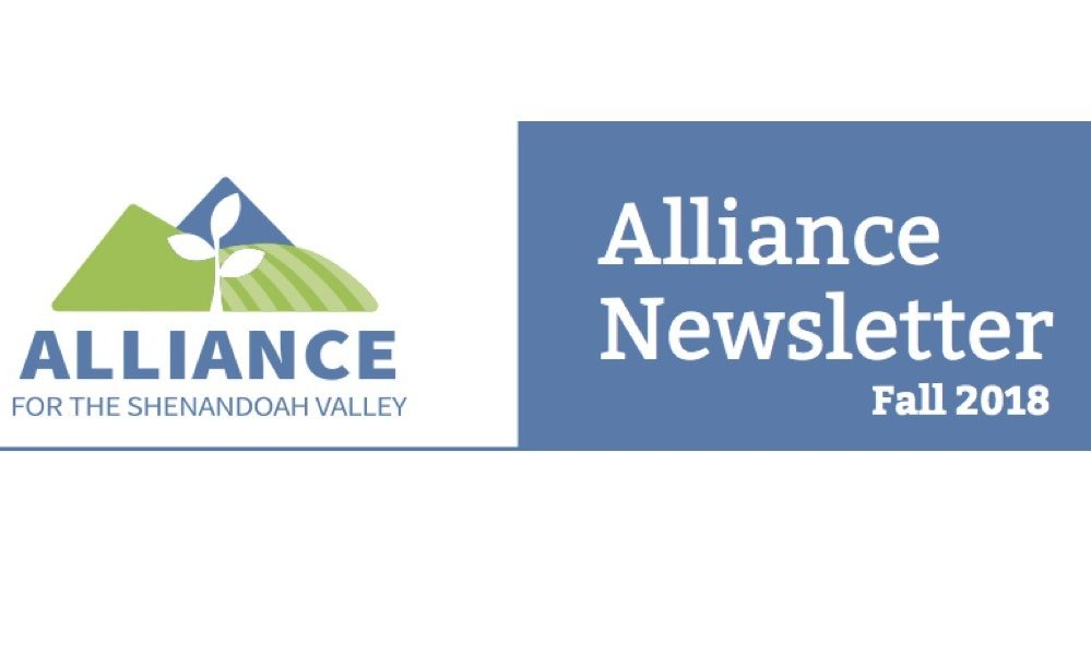 Hot off the Press! The Alliance's first newsletter is in the mail!