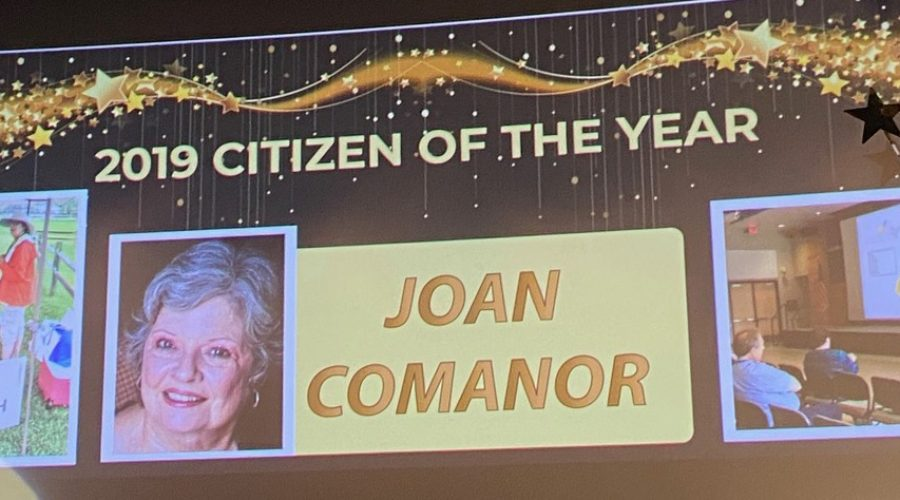 Alliance Board Chair Joan Comanor named Citizen of the Year!