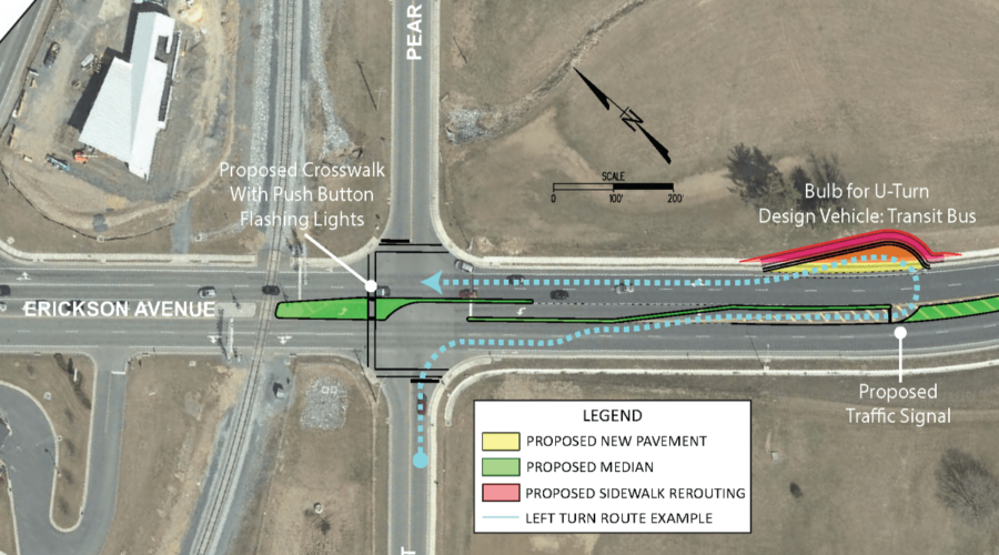 South Harrisonburg Road Improvement Designs