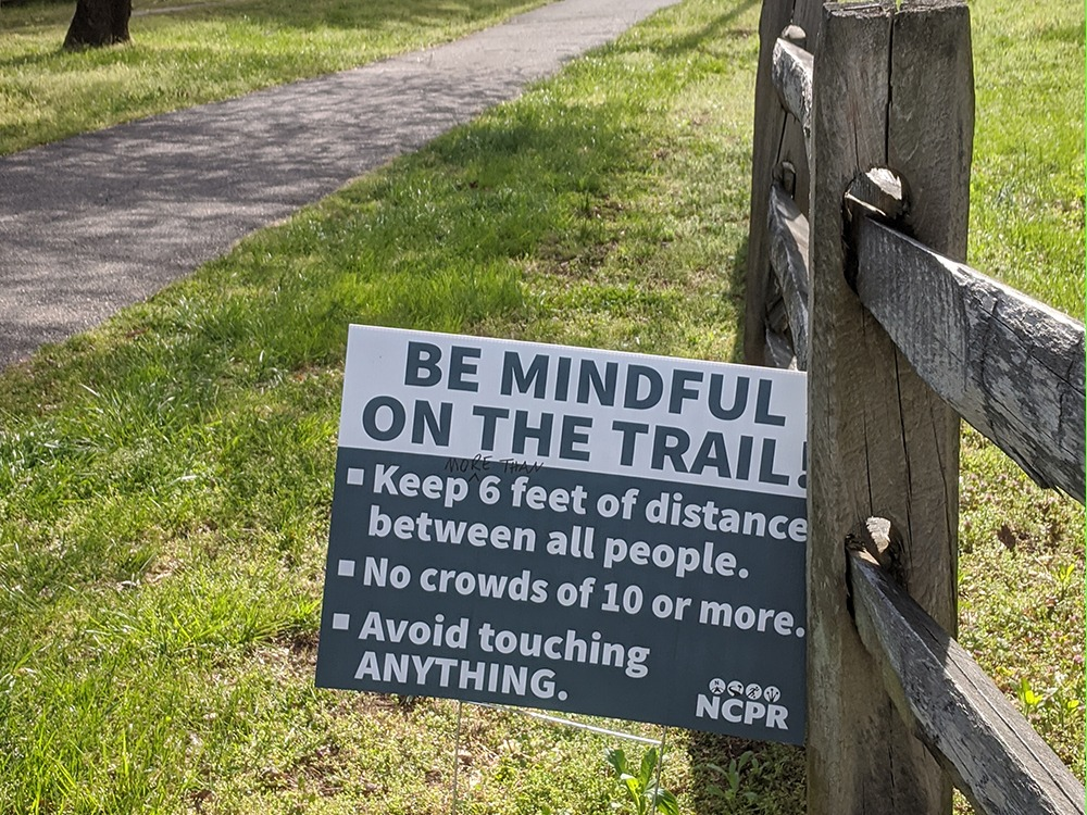 Be Mindful on the Trail