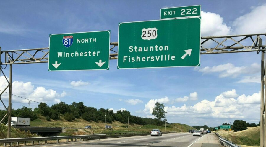 I-81 Widening in Staunton – chime in on the design.